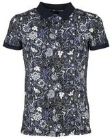 Etro Floral Printed Polo Shirt