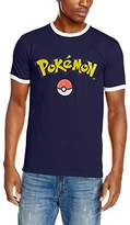 Pokemon Men's Logo & Ball T-Shirt
