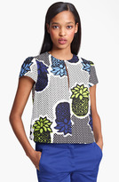 Moschino Cheap & Chic Pineapple Print Blouse