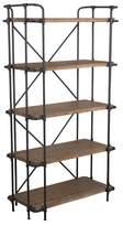 Christopher Knight Home Yorktown 5-Shelf Industrial Bookcase Brown