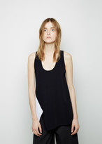 Proenza Schouler Colorblocked Viscose Knit Tank