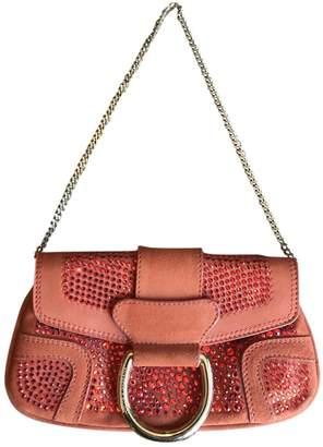 Dolce & Gabbana Girls Orange Suede Clutch bags