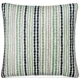 "Donna Karan DKNY Loft Stripe Indigo 16"" Square Decorative Pillow"