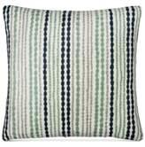 "Donna Karan DKNY Loft Stripe Indigo 16"" Square Decorative Pillow"
