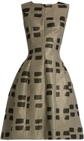 Vivienne Westwood Joan sleeveless brushstroke-brocade dress