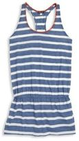 Splendid Girl's Chambray Cottage Striped Racerback Dress