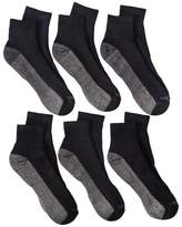 Dickies Men's 6pk Dri-Tech Ankle Socks - Black
