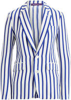 Ralph Lauren Yvette Striped Silk Jacket