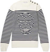 Alexander McQueen Striped Wool Sweater