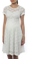 Pietro Brunelli Women's 'Rodano' Lace Maternity Dress