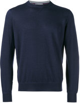 Brunello Cucinelli plain sweatshirt - men - Cashmere/Virgin Wool - 46