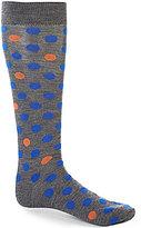 Daniel Cremieux Fashion Dots Over-the-Calf Dress Socks
