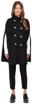 RED Valentino Scallop Cape Women's Coat