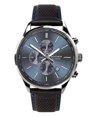 Sekonda Gents Leather Strap Watch