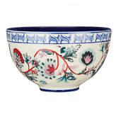 Anthropologie Salma Bowl, Blue/White, Dia.14cm