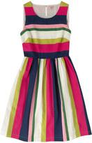 Cath Kidston Block Stripe Cotton Sleeveless Dress