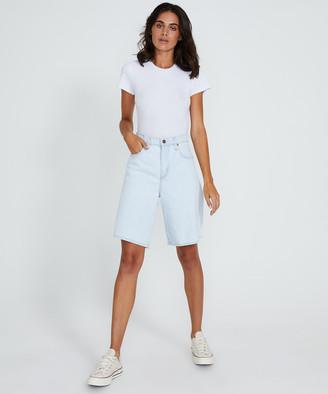 Nobody Tidal Denim Shorts Bask Blue