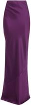 Acne Studios Irma Dbl Silk Maxi Skirt