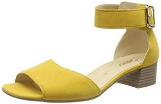 Gabor Shoes Women's Fashion Ankle Strap Block Heels Sandals