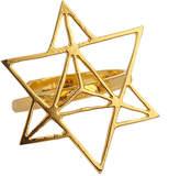 Eina Ahluwalia Star Tetrahedron Ring