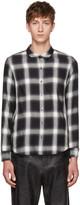 Attachment Black & White Plaid Shirt
