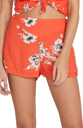 Volcom I Stay You Go Floral Shorts