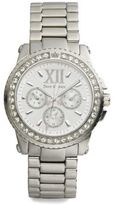Juicy Couture Pedigree Crystal Bezel Watch