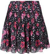 Giamba floral and star print skirt