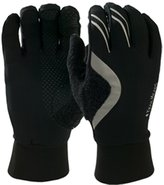 TrailHeads HyperReflect Running Gloves - black/silver