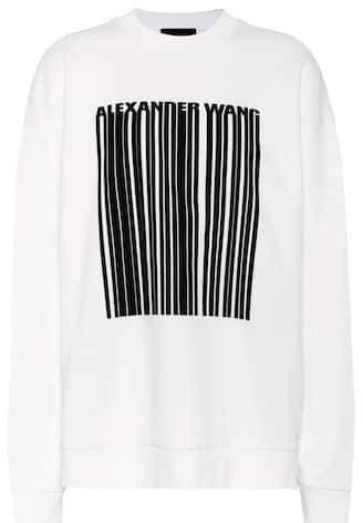 Alexander Wang Oversized cotton sweatshirt