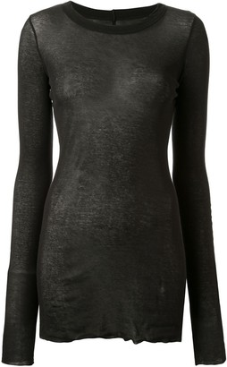 Rick Owens Forever Long Sleeve T-shirt