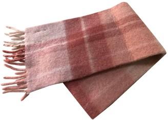 HOLZWEILER Pink Wool Scarves