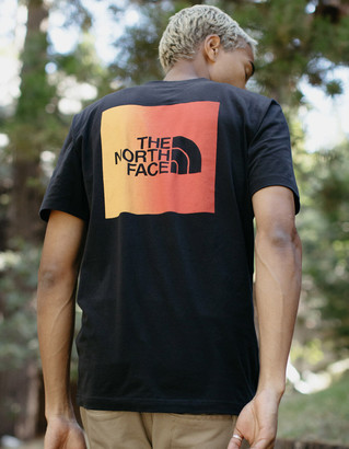 The North Face Gradient Red Box Black Mens T-Shirt