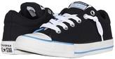 Converse Chuck Taylor(r) All Star(r) Street Varsity Slip-On (Little Kid/Big Kid) (Black/White/Coast) Boy's Shoes