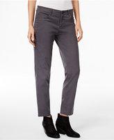 Eileen Fisher Organic Cotton-Blend Cropped Boyfriend Jeans