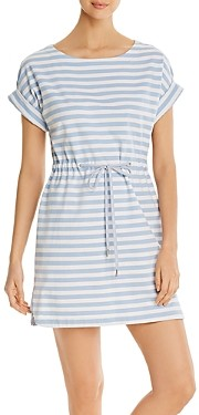 Tommy Bahama Amira Striped Drawstring Mini Dress