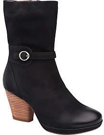 Dansko Mid Calf Leather Boots - Marietta