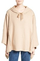 See by Chloe Women's Cotton Blend Poncho