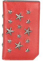 Jimmy Choo Cooper star stud card holder - women - Calf Leather - One Size