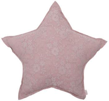 Numero 74 Flower Lace Star Cushion