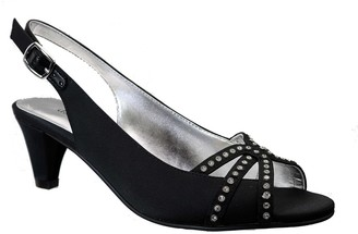 David Tate Regal Embellished Slingback Sandal