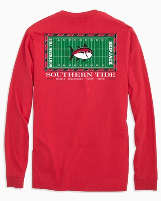 Southern Tide Georgia Bulldogs Stadium Long Sleeve T-Shirt