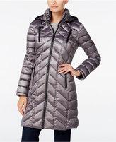 Calvin Klein Chevron-Quilted Packable Puffer Coat