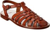 Celine Lerins Leather Sandal