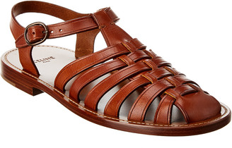 Celine Lerins Leather Sandal