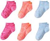 Puma Girls 6-pk. Low Cut Space-Dyed Socks