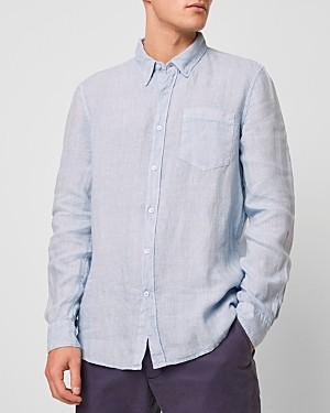 French Connection Garment Dyed Linen Shirt