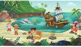 York Wall Coverings York wallcoverings Disney's Jake and the Never Land Pirates Removable Wallpaper Mural