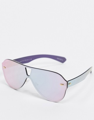 Quay Stay Afloat sunglasses in pink