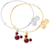 Disney Mickey Mouse Birthstone Bangle by Alex and Ani - January